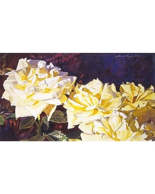 PTM Images Palaca Roses Graphic Art on Wrapped Canvas 9-1713