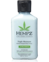 Hempz Triple Moisture Herbal Whipped Body Creme, 2.25 Ounce