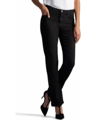 cfbd817a Score Big Savings: Women's Lee Relaxed Fit Straight Leg Jeans, Size ...