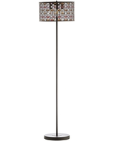 """Safavieh Collection Inspired by Disney's Live Action Film Aladdin-Mosiac 60"""" LED Floor Lamp - 15"""" x 15"""" x 59.7"""""""