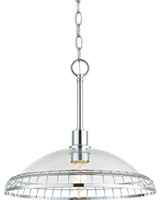 Hardware House Capetown Large Hanging Pendant in Chrome