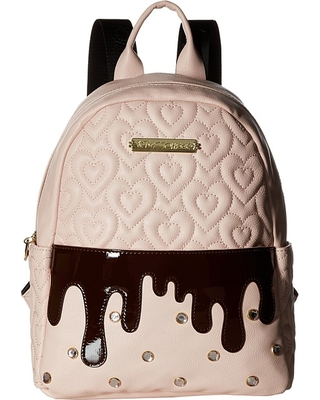 420e8af66b19 Snag These Sales! 66% Off Betsey Johnson Strawberry Backpack (Blush ...