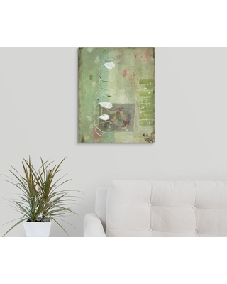 """GreatBigCanvas 16 in. x 20 in. """"Spiral"""" by Stephanie Lee Canvas Wall Art, Multi-Color"""