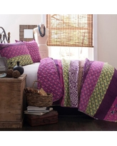 Royal Empire 3-Piece Reversible King Quilt Set by Lush Decor
