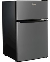 Whirlpool 3.1cu. ft. Mini Refrigerator Stainless Steel (Bcd-88V)