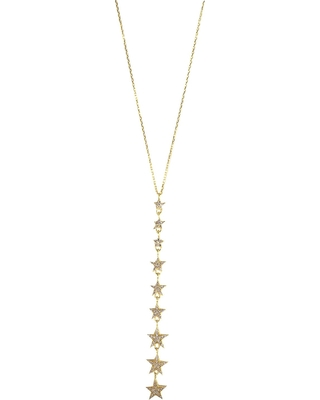 Wild Hearts - Falling Star Necklace Gold