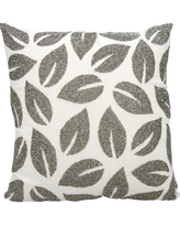 New Sales Are Here 68 Off House Of Hampton Anatole 100 Cotton Throw Pillow Ipin2213 Color Silver