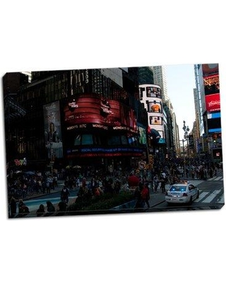 Wrought Studio 'Times Square IV' Photographic Print on Wrapped Canvas BF045900