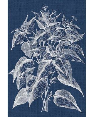 "East Urban Home 'Foliage Chintz III' Graphic Art Print on Wrapped Canvas ERNI3829 Size: 40"" H x 26"" W x 0.75"" D"