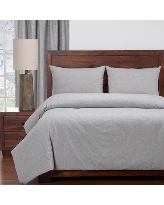 Siscovers Harvest Pewter Cotton Duvet and Shams Set (Twin)