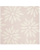 Safavieh Kids Collection Maras Floral Square Area Rug, One Size , Multiple Colors