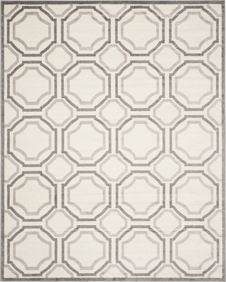 On Now 30 Off Amala 6 X9 Indoor Outdoor Rug Ivory Light Gray