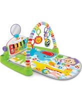 Fisher-Price Deluxe Kick & Play Piano Gym, Multi-Colored