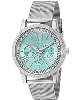 XOXO Women's Stainless Steel Analog-Quartz Watch with Alloy Strap, Silver, 17 (Model: XO5899)