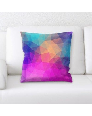 East Urban Home Background Throw Pillow W000251064