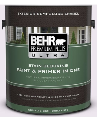 BEHR ULTRA 1 gal. #M570-1 In the Spotlight Semi-Gloss Enamel Exterior Paint and Primer in One
