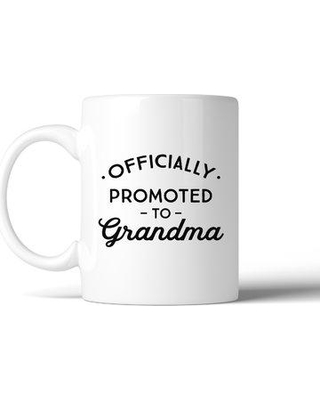 Ebern Designs Heinz Officially Promoted to Grandma Coffee Mug BF112905