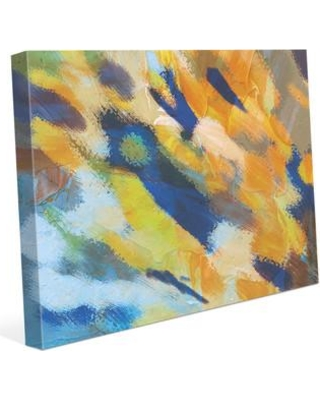 "Click Wall Art 'Explosions' Print of Painting on Wrapped Canvas CBS0002873CAN Size: 11"" H x 14"" W x 1.5"" D"