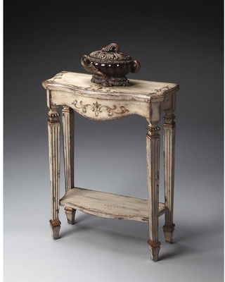 Handmade Butler Cheshire Guilded Cream Painted Console Table (Beige)