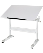 Adjustable Work Surface Black Martin Universal Design U-DS20B KTX Drawing and Craft Table