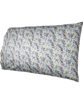 Performance 400 Thread Count Pillowcase Set Floral Purple (King) - Threshold, Purple Floral