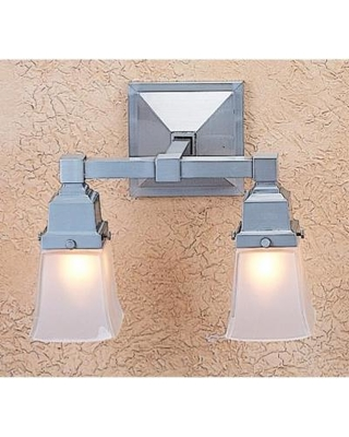 Arroyo Craftsman Ruskin 13 Inch Wall Sconce - RS-2-RB