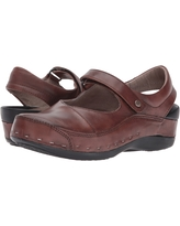 Wolky Strap Cloggy (Cognac) Women's Clog Shoes