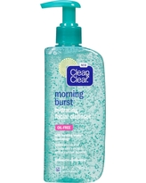 Clean & Clear Morning Burst Oil-Free Hydrating Face Wash - 8 fl oz