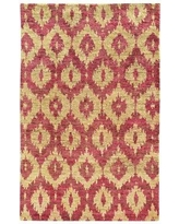 "Tommy Bahama Home Tommy Bahama Ansley Beige / Pink Abstract Rug ANS50901 Rug Size: Runner 2'6"" x 10'"