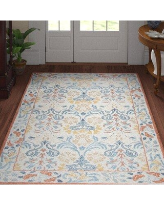 Three Posts™ Teen Nordmeyer Hand-Tufted Wool Natural Rug X112618906 Rug Size: Rectangle 10' x 13'
