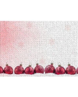 East Urban Home Decoration Red Area Rug X113217549 Rug Size: Rectangle 2' x 5'