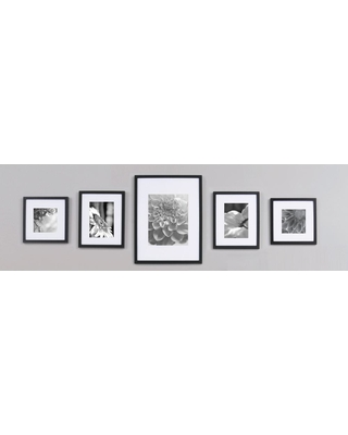 Deal Alert! 5-Opening 4 in. x 6 in. Matted Picture Frame, Black