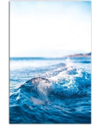 Breakwater Bay 'Clear Blue Waves' Photographic Print on Canvas CJ182183
