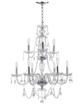 New Deal For Berthier 8 Light Candle Style Tiered Chandelier House Of Hampton