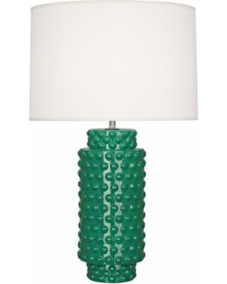 New Deals On Robert Abbey Dolly Emerald Green Ceramic Table Lamp