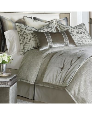 Eastern Accents Ezra Smoke Comforter HXF1517 Size: Super Queen Finish Type: Hand-Tacked