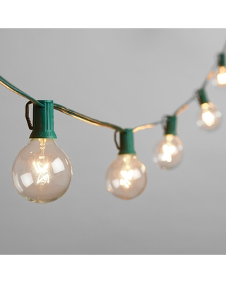 Clear Bulb String Lights by World Market