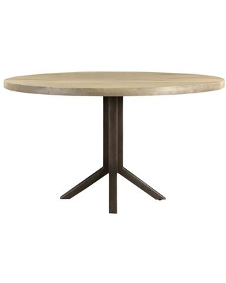 Branch Collection VE-1071-15 Dining Table with Iron Legs in Gray