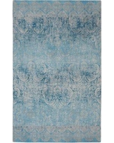 House of Hampton Walsall Contemporary Modern Blue Area Rug BI009049 Rug Size: Rectangle 5' x 7'