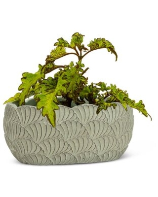 Great Deal On Flaxville Cement Pot Planter Rosecliff Heights Size 5 H X 8 W X 5 D