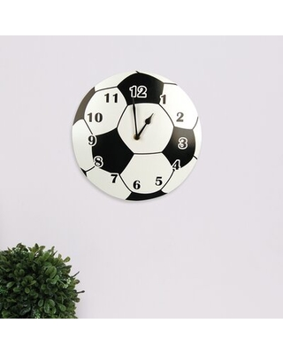"""Cantrell 11"""" Wall Clock Zoomie Kids"""