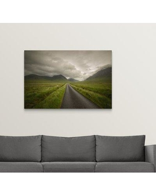 "Ebern Designs 'The Road to Highlands' Photographic Print on Canvas W000454753 Size: 24"" H x 36"" W x 1.5"" D"