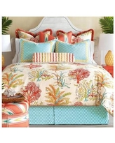 Eastern Accents Maldive Comforter EAN6492 Size: California King, Finish Type: Hand-Tacked