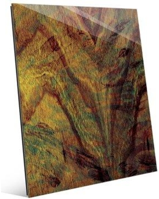 """Click Wall Art 'Wings Expanding' Painting Print on Plaque ABS0000684ACR11X14XXX Size: 20"""" H x 16"""" W x 1"""" D"""
