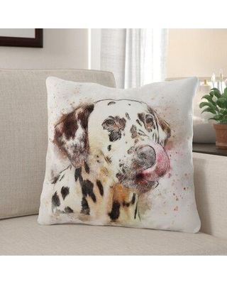 Deal 11 Off Winston Porter Mckenny Dog Throw Pillow X112304835 Cover Material Synthetic Location Outdoor