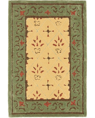 Safavieh Easy Care Beige/Red 2 ft. x 3 ft. Area Rug