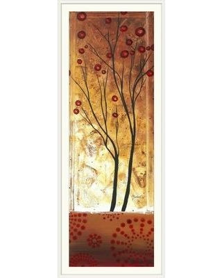 "Great Big Canvas 'Eclectic Dream' by Megan Duncanson Graphic Art Print 1906760 Size: 44"" H x 20"" W x 1"" D Format: White Framed"