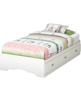 South Shore Tiara Twin Mate's Bed with Storage 3650212