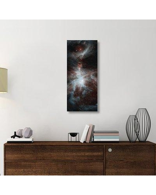 """East Urban Home 'Orion Dreamy Stars' Graphic Art Print on Canvas ETUC6434 Size: 40"""" H x 17"""" W x 1.5"""" D"""