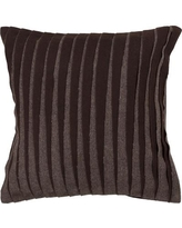 "Loon Peak Beugre Textured Contemporary Wool Throw Pillow LOPK7425 Size: 22"" H x 22"" W"